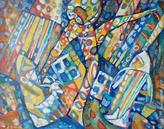 Символизм ручной работы. Ярмарка Мастеров - ручная работа. Купить Встреча с Ангелом--  (ЗВУКИ АНГЕЛОВ ). Handmade. Голубой, радужный