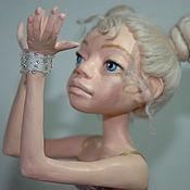 """Куклы и игрушки ручной работы. Ярмарка Мастеров - ручная работа Авторская кукла """"Девочка на шаре"""". Handmade."""
