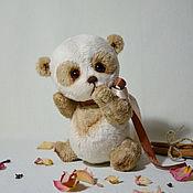 Куклы и игрушки handmade. Livemaster - original item Panda 18cm.. Handmade.