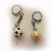"Русский стиль handmade. Livemaster - original item Брелок ""Мячик""  10 шт.. Handmade."