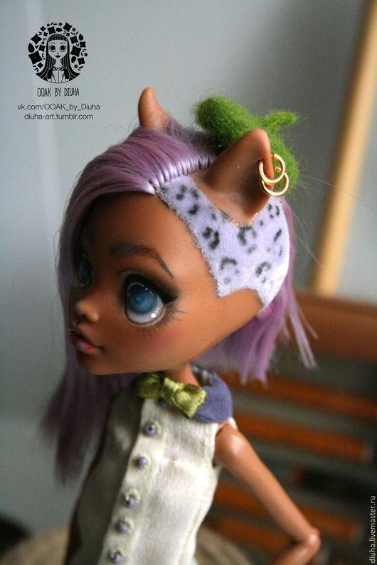 Коллекционные куклы ручной работы. Ярмарка Мастеров - ручная работа. Купить ООАК Клодин Вульф Monster High. Handmade.