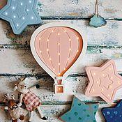 Для дома и интерьера ручной работы. Ярмарка Мастеров - ручная работа Детский светильник-ночник Воздушный шар. Handmade.