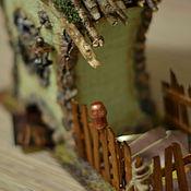 """Для дома и интерьера ручной работы. Ярмарка Мастеров - ручная работа Эксклюзивный чайный домик """"Дом лесной ведьмы"""". Handmade."""