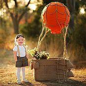 """Дизайн и реклама ручной работы. Ярмарка Мастеров - ручная работа Воздушный шар """"Апельсин"""". Handmade."""