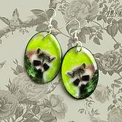 Украшения handmade. Livemaster - original item transparent earrings