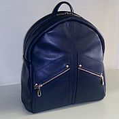 Сумки и аксессуары handmade. Livemaster - original item Backpack leather universal. Handmade.