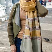 Аксессуары handmade. Livemaster - original item Copy of Copy of Copy of Yak wool shawl. Handmade.