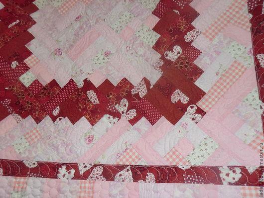 Пледы и одеяла ручной работы. Ярмарка Мастеров - ручная работа. Купить Розовое. Handmade. Розовый, покрывало, деткая, новорожденной