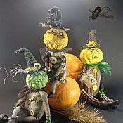 Подарки к праздникам handmade. Livemaster - original item Halloween pumpkin, pumpkin toy, Halloween gift. Handmade.