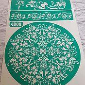 Материалы для творчества handmade. Livemaster - original item 4908 adhesive-based Stencil reusable. Handmade.