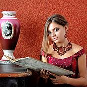 """Украшения ручной работы. Ярмарка Мастеров - ручная работа Колье """" Вино страсти"""". Handmade."""