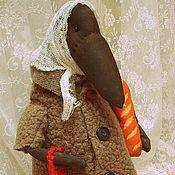"""Куклы и игрушки ручной работы. Ярмарка Мастеров - ручная работа Ворона """"Пенсия"""". Handmade."""