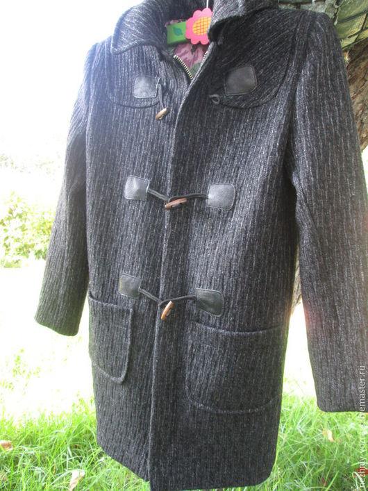"""Для подростков, ручной работы. Ярмарка Мастеров - ручная работа. Купить Пальто на мальчика  """"Осенняя пора"""". Handmade. Темно-серый"""