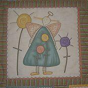 """Для дома и интерьера ручной работы. Ярмарка Мастеров - ручная работа """"Angel`s castle"""", детское лоскутное одеяло.. Handmade."""