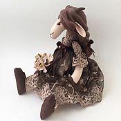 Куклы и игрушки ручной работы. Ярмарка Мастеров - ручная работа Козочка Шоколетта. Handmade.