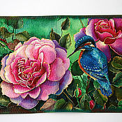 Сумки и аксессуары handmade. Livemaster - original item Passport cover bird of Paradise. Handmade.
