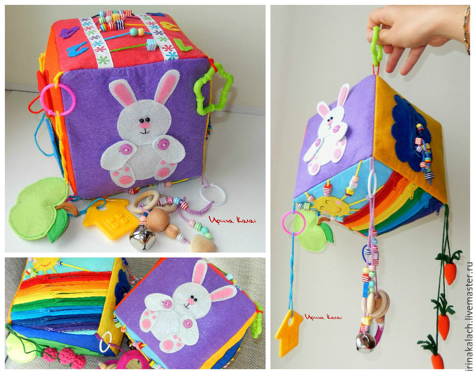 Развивающие кубики для детей своими руками из ткани выкройки 60