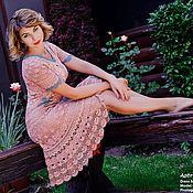 """Одежда ручной работы. Ярмарка Мастеров - ручная работа """"Афродита"""" - ажурное платье крючком. Handmade."""