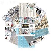Материалы для творчества handmade. Livemaster - original item Set 2580231 Paper Winter Ortuzar. Handmade.
