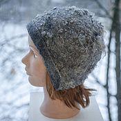 Аксессуары handmade. Livemaster - original item Hat-earflaps felted