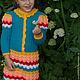 Одежда для девочек, ручной работы. Платье для девочки. Ирина Мажуга (Мультан) (MIRA060609). Ярмарка Мастеров. Платье детское, платье на пуговицах