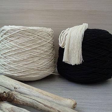 Materials for creativity handmade. Livemaster - original item 4mm cotton twine for macrame. Handmade.