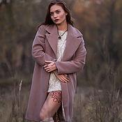 Одежда handmade. Livemaster - original item Classic cocoon coat. Handmade.