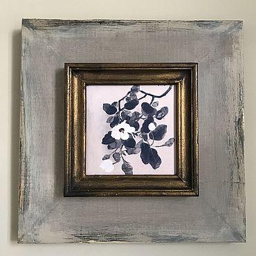Картины и панно ручной работы. Ярмарка Мастеров - ручная работа Сакура. Handmade.