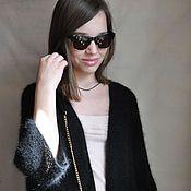 Одежда handmade. Livemaster - original item Knitted cardigan from Italian Angora