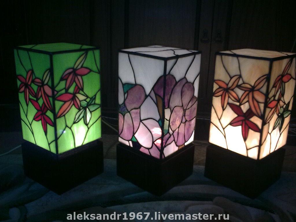Витражные светильники своими руками фото 905