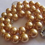 Украшения handmade. Livemaster - original item Necklace PEACH Pearl Majorca 12mm. Handmade.
