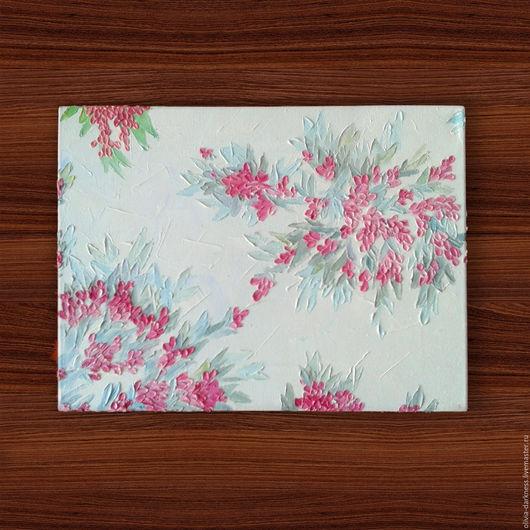 Картина `Игра цветов`  Холст, масло, 40*30 см