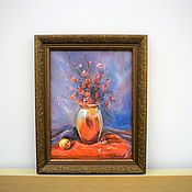 Картины и панно handmade. Livemaster - original item The picture in the frame . Still life . BOUQUET . Paintings of flowers. Handmade.