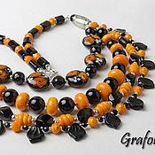 Украшения handmade. Livemaster - original item Necklace Bright colors. Handmade.