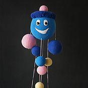 Куклы и игрушки ручной работы. Ярмарка Мастеров - ручная работа Мягкая игрушка Капитошка. Handmade.