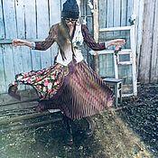 Платья ручной работы. Ярмарка Мастеров - ручная работа Комплект с васильками. Handmade.