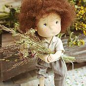Мягкие игрушки ручной работы. Ярмарка Мастеров - ручная работа Интерьерная текстильная кукла. Handmade.