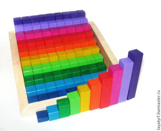 Развивающие игрушки ручной работы. Ярмарка Мастеров - ручная работа. Купить Сотня. Handmade. Комбинированный, счетный материал, кубики