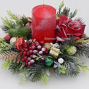 Цветы и флористика handmade. Livemaster - original item Candle holder Christmas. Christmas decor. Souvenir New year.. Handmade.