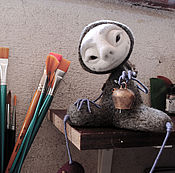 """Куклы и игрушки ручной работы. Ярмарка Мастеров - ручная работа Войлочная игрушка """"Киш"""". Handmade."""