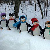 Куклы и игрушки ручной работы. Ярмарка Мастеров - ручная работа Пингвинчики. Handmade.