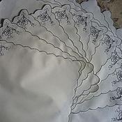 Винтаж ручной работы. Ярмарка Мастеров - ручная работа Салфетки ришелье 12 шт.. Handmade.