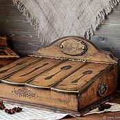 Для дома и интерьера handmade. Livemaster - original item Large box of Cutlery