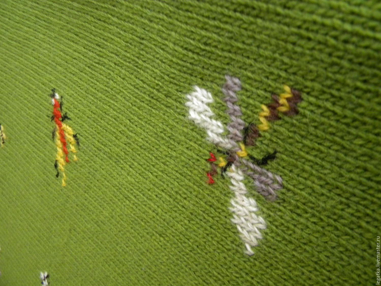 Пуловер С Вышивкой С Доставкой