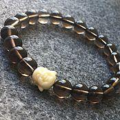Украшения handmade. Livemaster - original item Maitreya bracelet from rauchtopaz. Handmade.