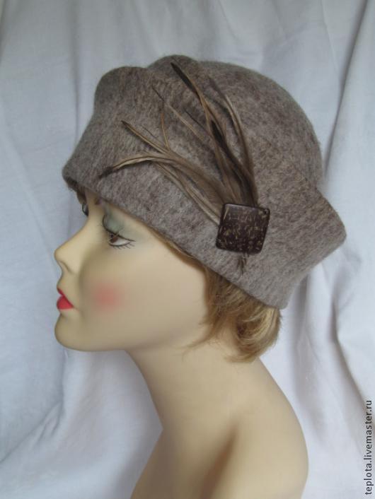 """Шляпы ручной работы. Ярмарка Мастеров - ручная работа. Купить Валяная шляпка """"Путешественница"""". Handmade. Валяная шляпка, шляпки, войлок"""