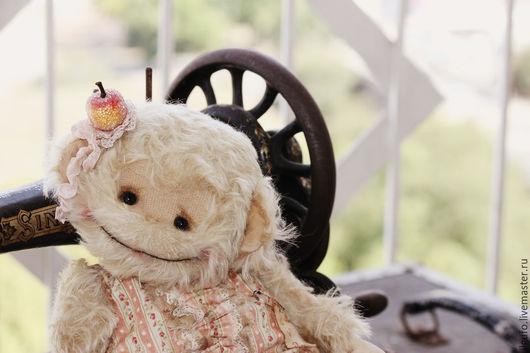 Мишки Тедди ручной работы. Ярмарка Мастеров - ручная работа. Купить Ева-обезьянка. авторский тедди ручной работы. Handmade.