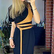 Аксессуары handmade. Livemaster - original item Shoulder belt with triangular insert and double turn. Handmade.