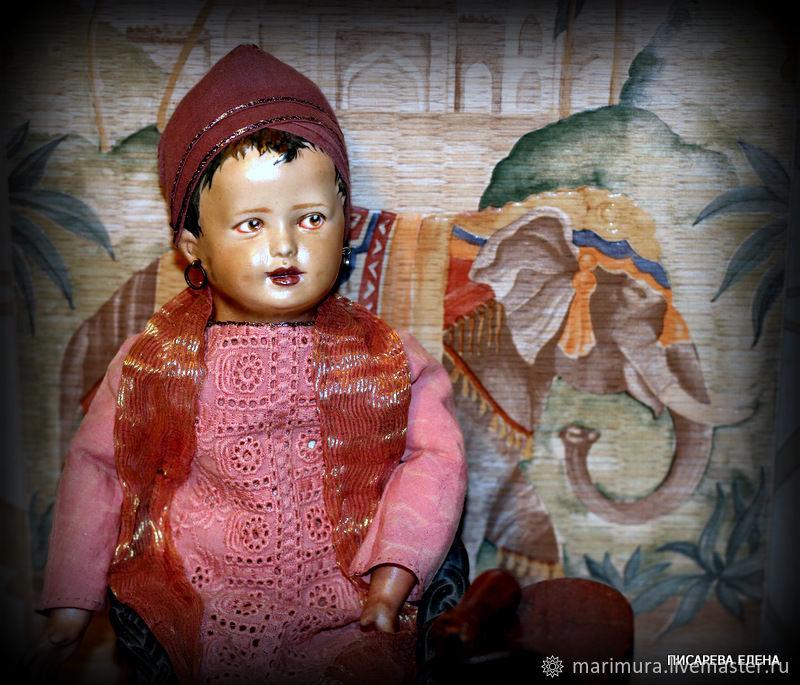 "Фарфоровая кукла ""Радж Сингх"", Куклы и пупсы, Москва,  Фото №1"