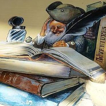 """Для дома и интерьера ручной работы. Ярмарка Мастеров - ручная работа """"Сказка на ночь"""". Handmade."""